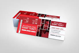 Ticket Design London Event Ticket Design Template