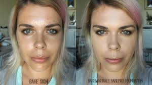 bare minerals before and after. new launch // bareminerals barepro performance wear foundation : full review. bare minerals before and after k