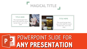 Powerpoint Create Slide Template Clean Powerpoint Slide Template For Any Presentation Powerpoint