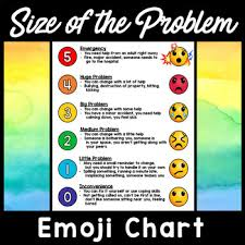How Big Is My Problem Chart Size Of Problem Chart Worksheets Teaching Resources Tpt