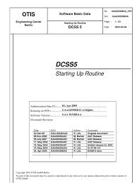 otis software basic data door interface computing