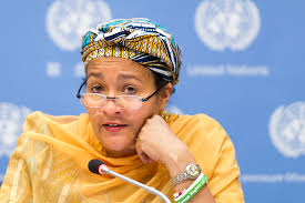 photo of amina mohammed