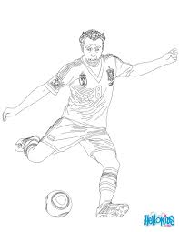 Small Picture Soccer Player Coloring Pages Free Printable Soccer Coloring Pages