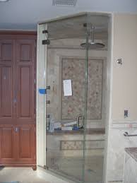 home steam room design. Divine Steam Shower Design Ideas Come With Built In And Round Shape Ceiling Mount Head Single Glass Door Home Room