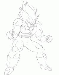 Dragon Ball Z Vegeta Coloring Pages Coloring Home