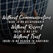 Trust Quotes For Relationships Simple Httpwwwlookupquotespicturequoteswithoutcommunication