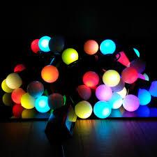 6m 40 leds ac 220v outdoor multicolor led string lights christmas tree lights eu plug led
