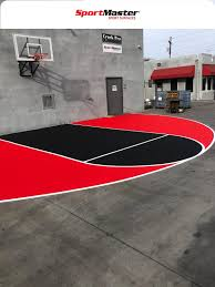 With an open top design and superior weather resistance and drainage, our floors are ready to play all year round. Sportmaster Basketball Court Surfaces Phoenix Az Home Basketball Court Backyard Court Outdoor Basketball Court