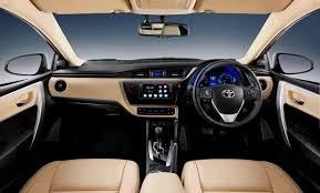 2017 Toyota Corolla Dashboard Warning Lights New Interior Changes In The Facelifted Toyota Corolla 2017