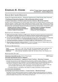 Software Engineer Resume Examples Delectable Software Developer Resume Sample Best Of Software Developer Resume