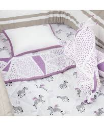 masilo organic cotton bedding set zebra