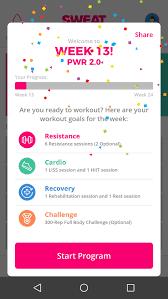 pwr 1 0 program by kelsey wells pdf sweat app screenshots very fast delivery ebay