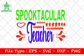 Free basic limited commercial use license in a jpg file. Spooktacular Teacher Graphic By Star Graphics Creative Fabrica
