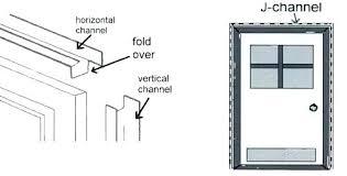 Aluminum Trim Coil Color Chart Aluminum J Trim Tokyowise Co