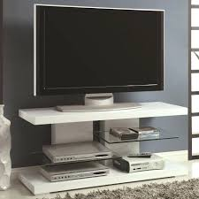 tv stand glass shelves cabinet with