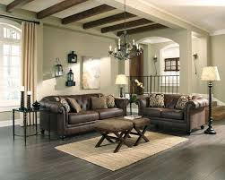 NEW ASHLEY CONTEMPORARY ESPRESSO FAUX LEATHER BROWN SOFA COUCH AND LOVESEAT SET AshleyFurniture Contemporary