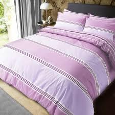 luxury banded stripe lilac duvet set reversible quilt cover bedding super king size 261962 p5587 15323 image jpg