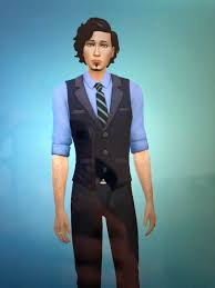 Just bought RoM so naturally I had to create the characters from The  Magicians. I restyled Ember into Eliot Waugh. : thesims