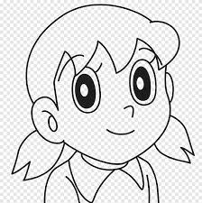 This clipart image is transparent backgroud and png format. Shizuka Minamoto Coloring Book Doraemon Nobita Nobi Drawing Doraemon White Child Png Pngegg