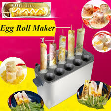 Hot Vending Machine Beauteous Commercial Gas Egg Roll Machine Egg Roll Maker Hot Dog Vending