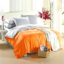orange duvet orange silver grey bedding set king size queen quilt doona duvet cover designer double bed sheet bedspread linen cotton modern bedding sets