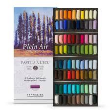 Sennelier Soft Pastel Half Stick Set Of 80 Landscape