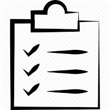 todo checklist checklist clipboard inventory list report tasks todo icon