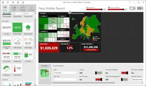 Create mobile reports with SQL Server Mobile Report Publisher