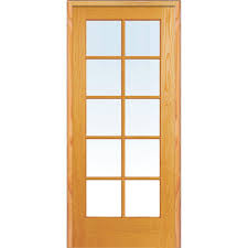 interior clear glass door. Mmi Door 335 In X 8175 Classic Clear Glass 10 Lite True For Sizing 1000 Interior