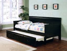 trundle day bed wooden daybed with trundle uk