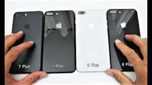 iphone 7 plus black unboxing. unboxing iphone 8 plus space gray vs. 7 black and jet iphone