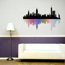 aliexpress buy new york city vinyl wall decal beautiful for new york wall decal decor  on new york skyline wall art stickers with best new york city skyline wall decal products on wanelo for new