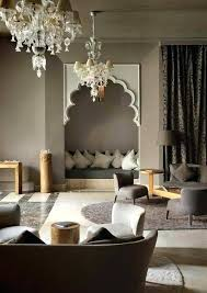 middle eastern style decor furniture ethnic sofa ideas modern living room with dark grey lighting