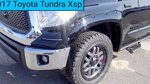 2017 Toyota Tundra Xsp Edition - YouTube
