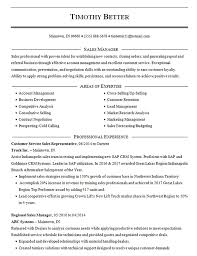 Sales Resume Template Sales Manager And Business Development