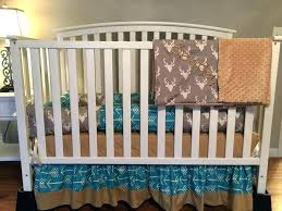 hunting baby bedding sets crib deer girl items similar to tribal arrows stag buck head gray deer head baby bedding