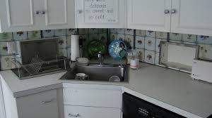Marble Corner Sink With White Bowl For Kitchen Ideas The Green