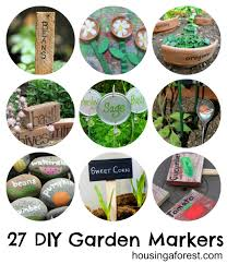 diy plant markers that inspire