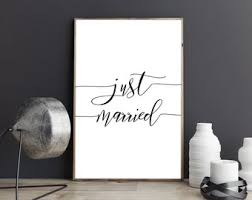 Just Married Quotes Just married quotes Etsy 81