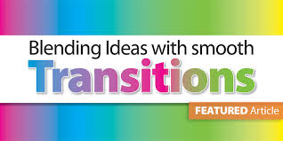 Advance From Transition Words To Phrases To Sentences