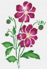 Cross Stitch Flower Patterns Classy Cross Stitch Pattern Cross Stitch Patterns Cross Stitch Etsy