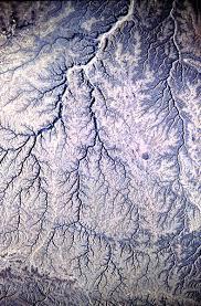 Dendritic Drainage Pattern