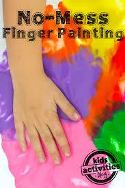 my son doesn t like to get paint on his hands so this is the perfect activity for him we practice tracing letters drawing shapes and just squishing in