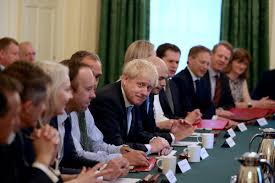 Boris Johnsons No Ifs No Buts Brexit Cabinet Assembles For First