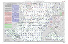 Geogarage Blog Pilot Chart Of The North Of Atlantic June
