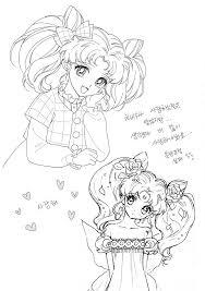 Rini Sailor Mini Moon イラスト セーラームーンセーラームーン