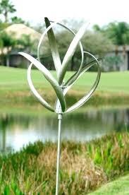 kinetic garden art sculpture wind spinner yard decor windmill outdoor metal new spinners costco