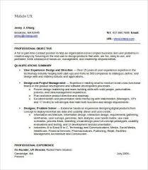 Ux Designer Resume Inspiration 869 User Experience Designer Resume Alluring Ux Design Resume Best