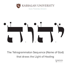 Image result for Kabbalah God's Name images