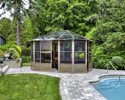 outdoor patio tents. A Glass Roof Makes An Enclosed Gazebo The Perfect Unattached Solarium For Backyard. Here Outdoor Patio Tents